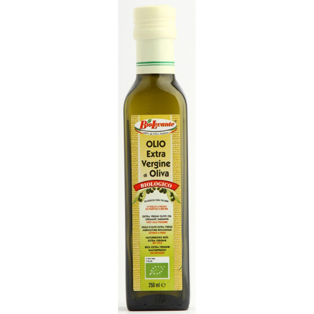 OLIWA Z OLIWEK EXTRA VIRGIN BIO 250 ml - BIO LEVANTE